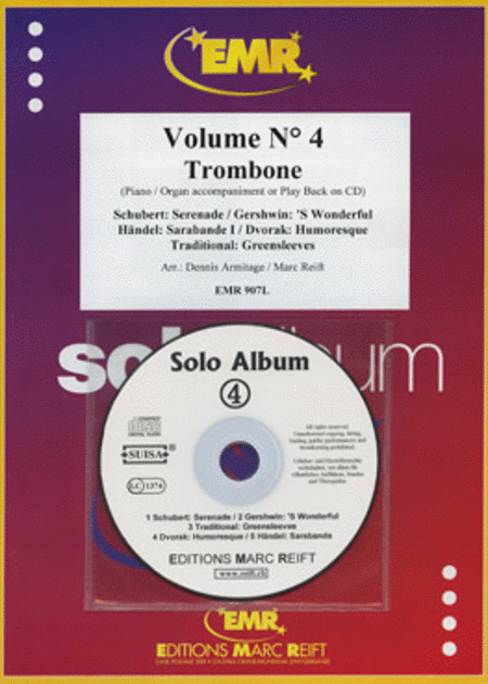 Solo Album Volume 04 (with CD)