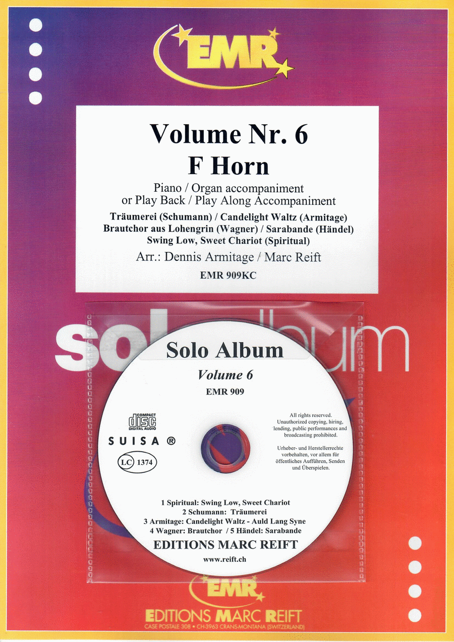 Solo Album Vol. 06 (with CD)
