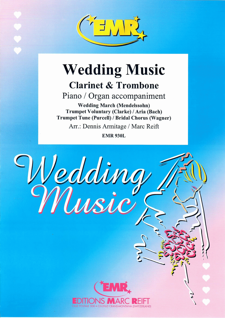 Wedding Music - Clarinet/Trombone Duet