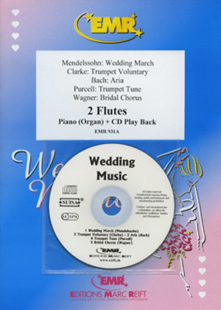 Wedding Music - Flute Duet (with CD)