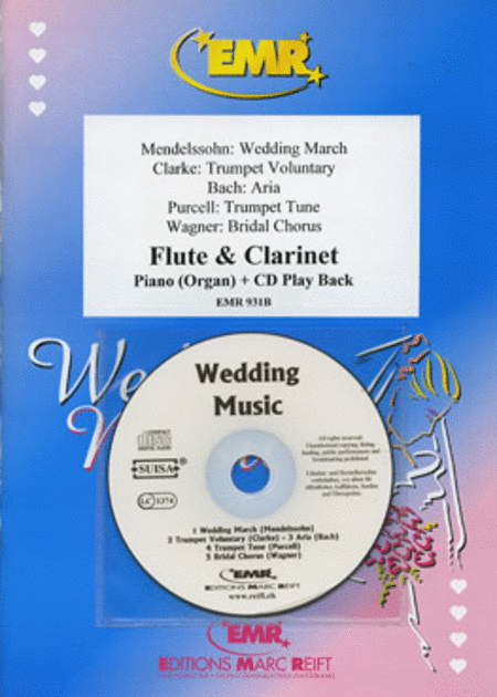 Wedding Music - Flute/Clarinet Duet ) (with CD)