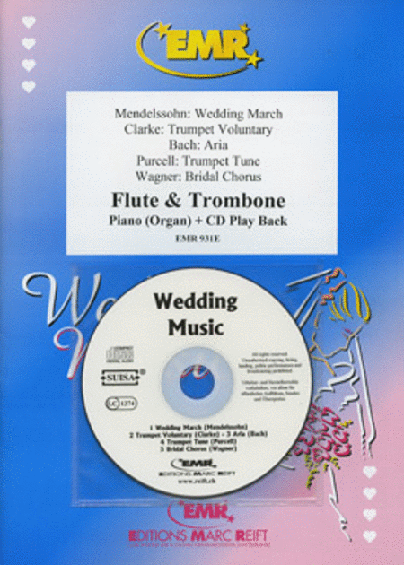 Wedding Music - Flute/Trombone Duet (with CD)