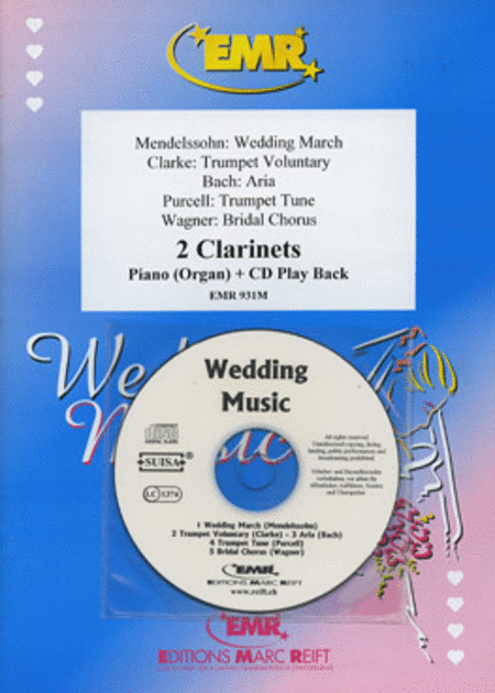 Wedding Music - Clarinet Duet (with CD)