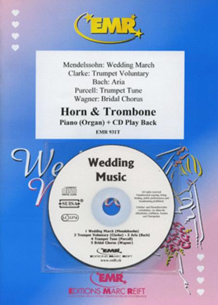 Wedding Music - Horn/Trombone Duet (with CD)