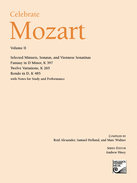 Celebrate Mozart, Volume II
