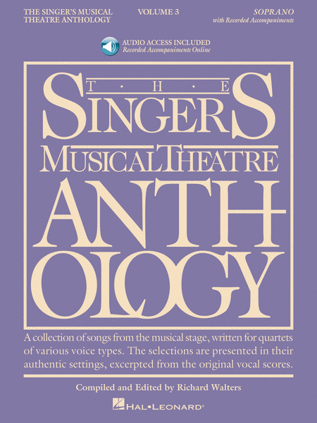 The Singer's Musical Theatre Anthology - Volume 3 - Soprano
