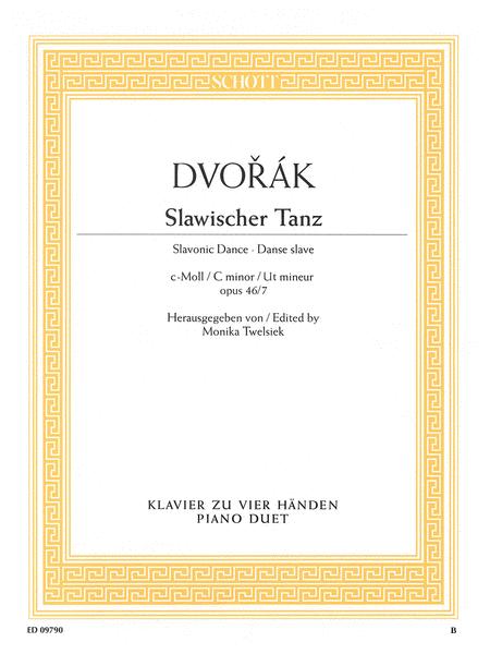 Slavonic Dance in C Minor Op. 46, No. 7