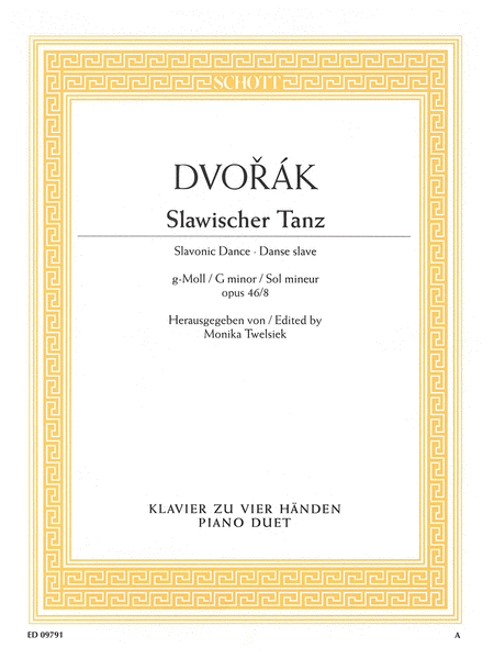 Slavonic Dance in G Minor Op. 46, No. 8