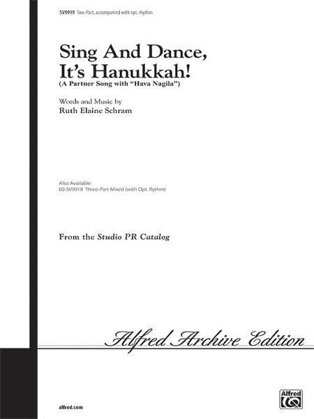 Sing and Dance, It's Hanukkah!