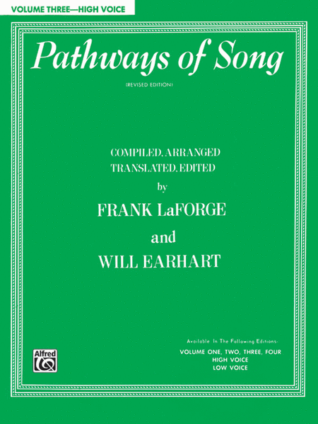 Pathways of Song, Volume 3