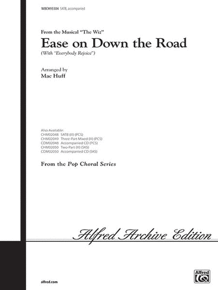 Ease On Down the Road with Everybody Rejoice SATB