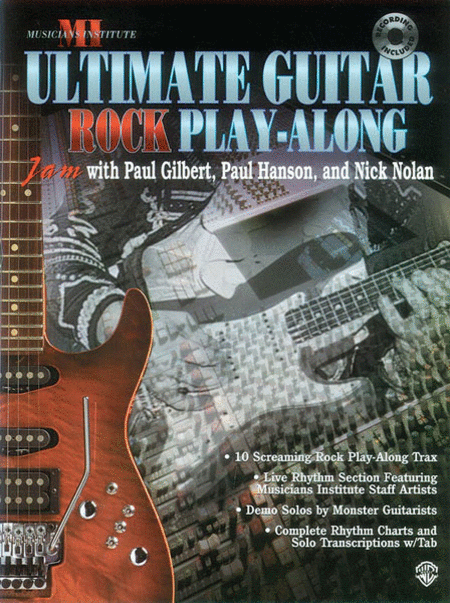 Ultimate Play-Along Guitar Trax Rock