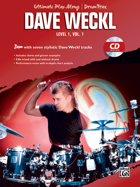 Ultimate Play-Along Drum Trax Dave Weckl, Level 1, Volume 1