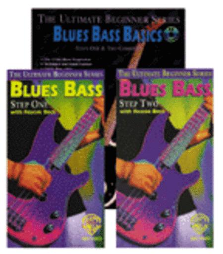 Ultimate Beginner Series Mega Pak: Blues Bass Basics Mega Pak