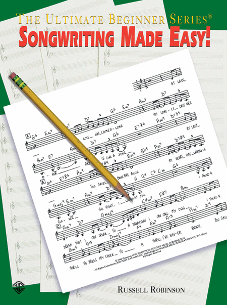 Ultimate Beginner Songwriting Made Easy!