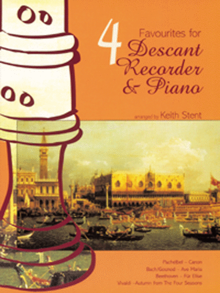 Four Favourites for Descant Recorder and Piano