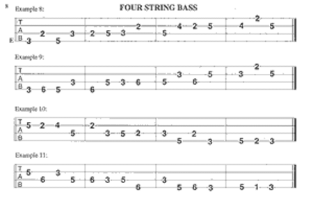 Bass Warm-Ups