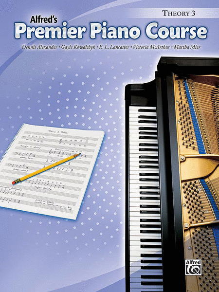 Premier Piano Course Theory, Book 3