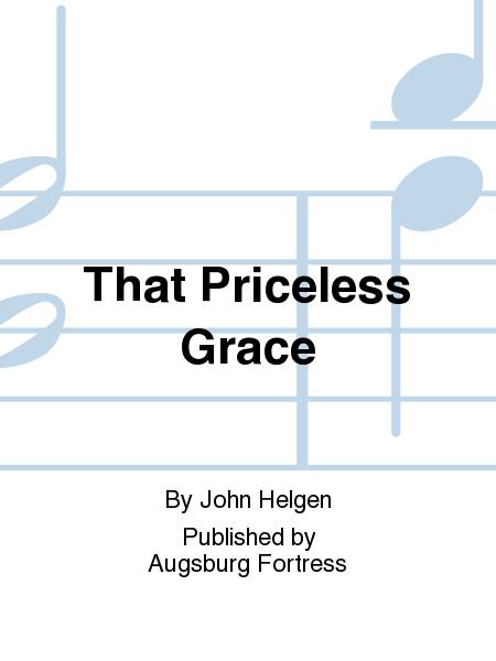 That Priceless Grace