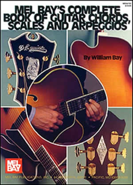 Complete Book of Guitar Chords, Scales, and Arpeggios