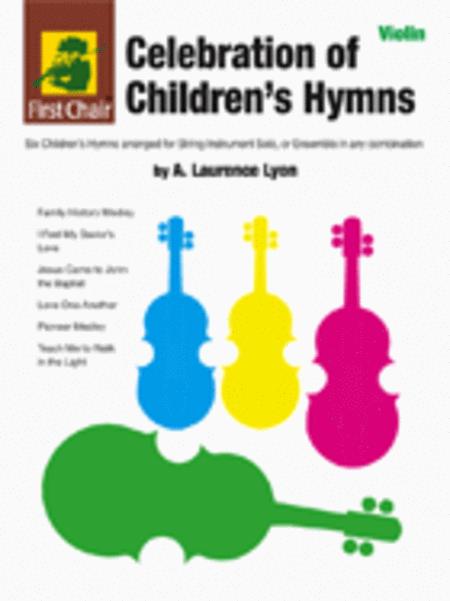 Celebration of Children's Hymns - violin