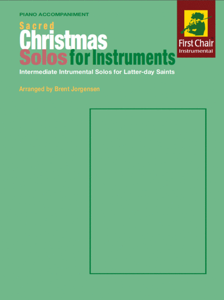 Sacred Christmas Solos for Instruments