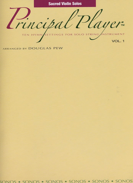 Principal Player, Vol. 1 - Violin