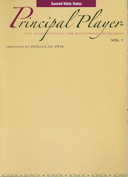Principal Player, Vol. 1 - Viola