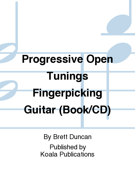 Progressive Open Tunings Fingerpicking Guitar (Book/CD)