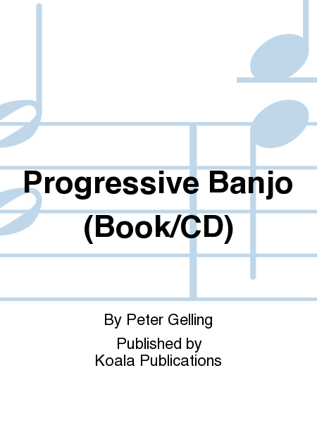 Progressive Banjo (Book/CD)