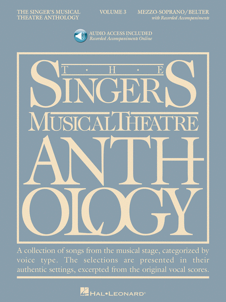 The Singer's Musical Theatre Anthology - Volume 3 - Mezzo Soprano