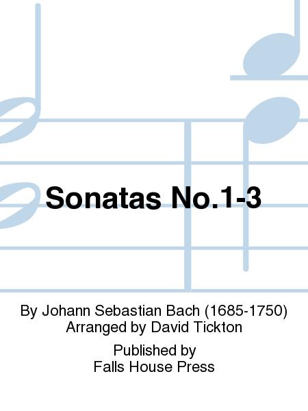 Sonatas No.1-3