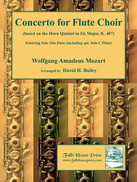 Concerto for Four Flutes (optional piccolo, alto flute, and bass flute)