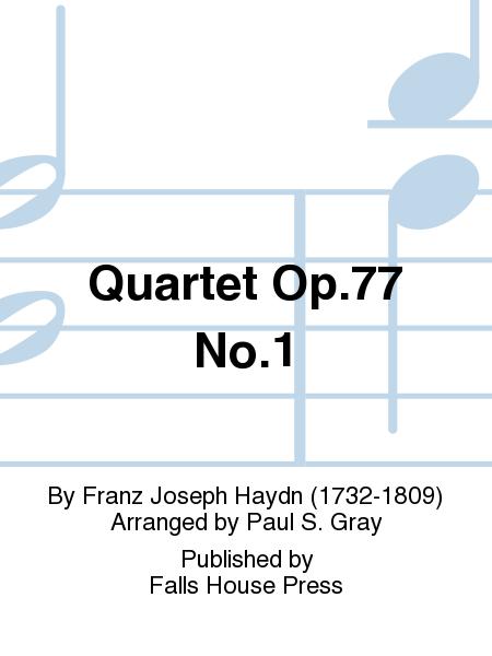 Quartet Op.77 No.1