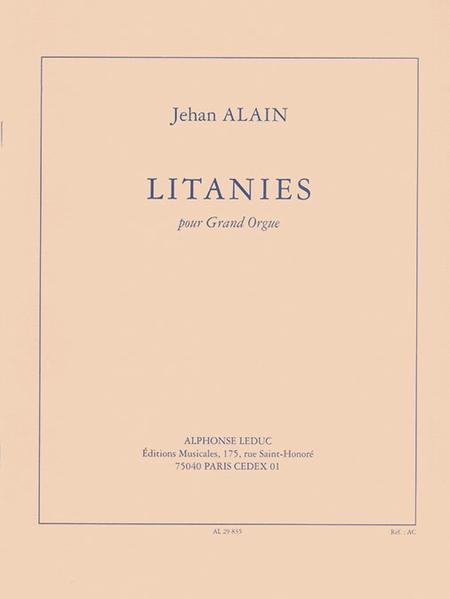 Litanies - Orgue