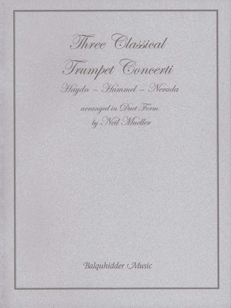 Three Classic Trumpet Concertos