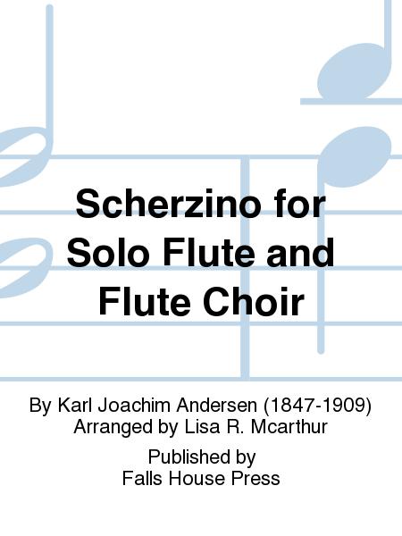 Scherzino for Solo Flute and Flute Choir