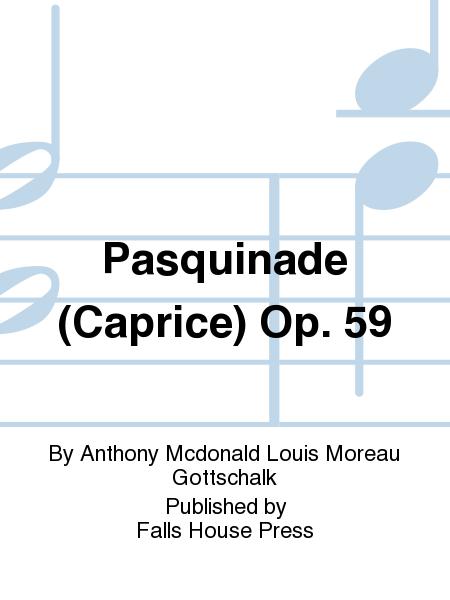 Pasquinade (Caprice) Op. 59