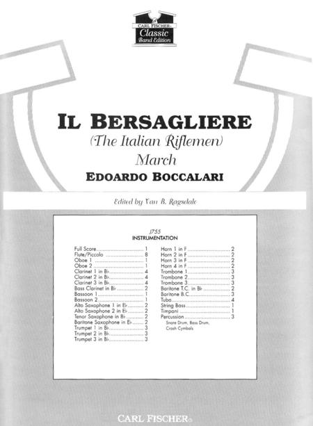 Il Bersagliere (The Italian Riflemen) March (The Italian Riflemen)