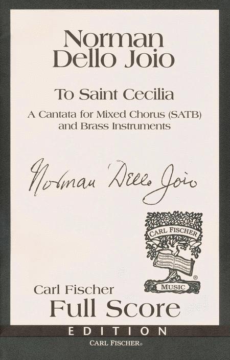 To Saint Cecilia