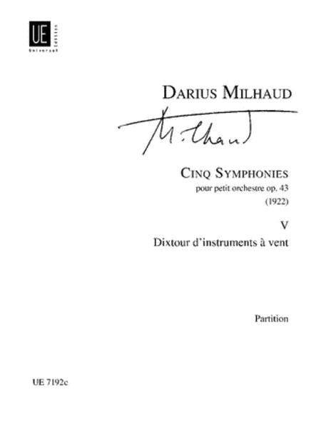 Symphony 5 Dixtuor D'instru Vents