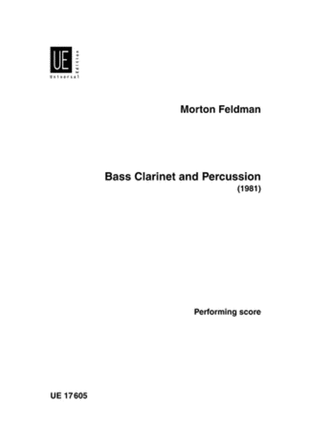 Bass Clarinet & Percussion