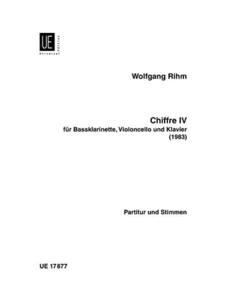 Chiffre 4 Clarinets, Cello, and Piano