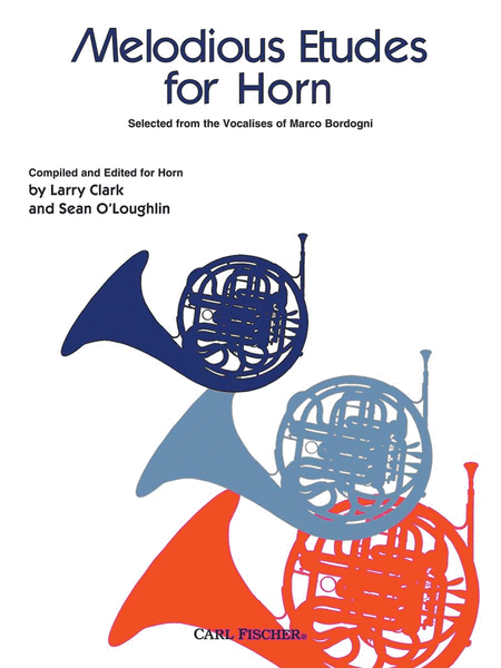 Melodious Etudes For Horn