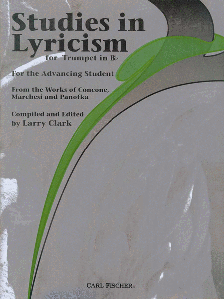 Studies In Lyricism for Trumpet In Bb
