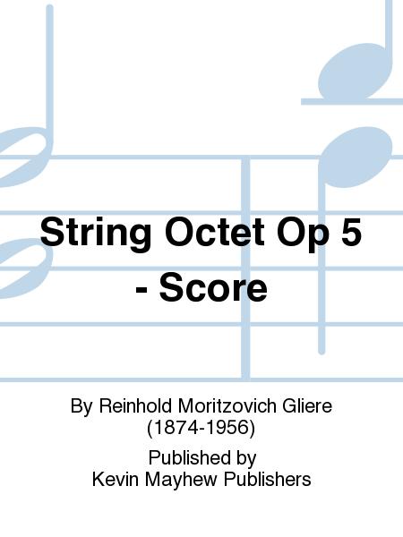 String Octet Op 5 - Score