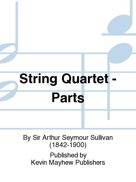 String Quartet - Parts
