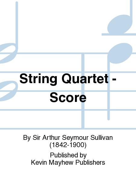 String Quartet - Score