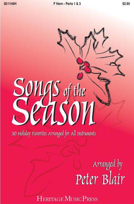 Songs of the Season - F Horn (Parts 1 & 3)