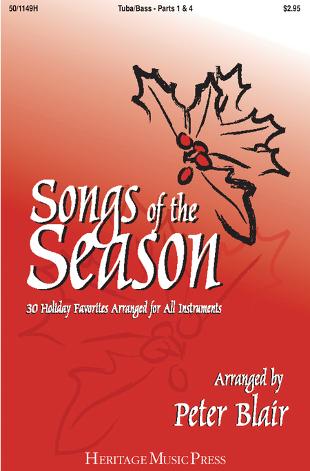 Songs of the Season - Tuba (Parts 1 & 4)